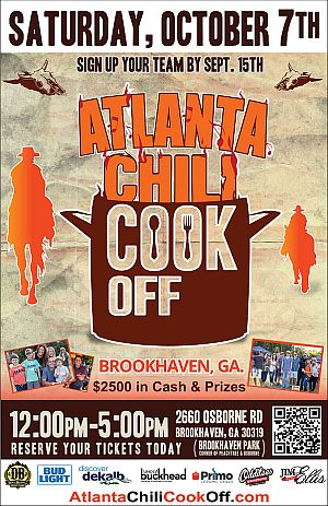 Atlanta Chili Cook Off - 11x17 - 2-OL